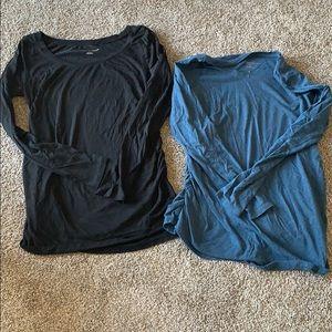 Liz Lange maternity shirts.